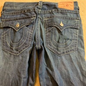 True Religion Ricky Straight leg Denim Jeans